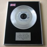 PHIL COLLINS - A GROOVY KIND OF LOVE Platinum single presentation DISC